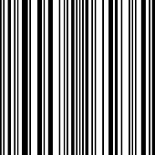 Bar code. Seamless pattern. Vertical stripes.