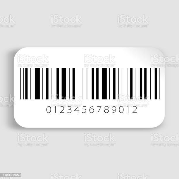 Bar code Realistic barcode icon. Barcode vector illustration. Bar - Drink Establishment stock vector