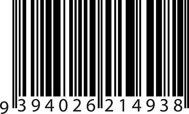 bar code vector art illustration