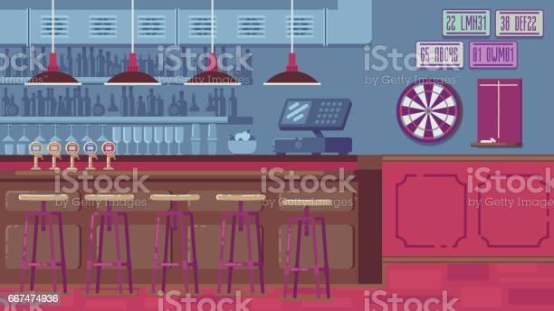 Bar restaurant with counter in flat style vector id667474936?b=1&k=6&m=667474936&s=612x612&h=qy pvhpyhyobpl nn1hgmtxvw7ckm2llmn2xnkfsunu=