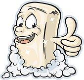 Bar Soap Mascot