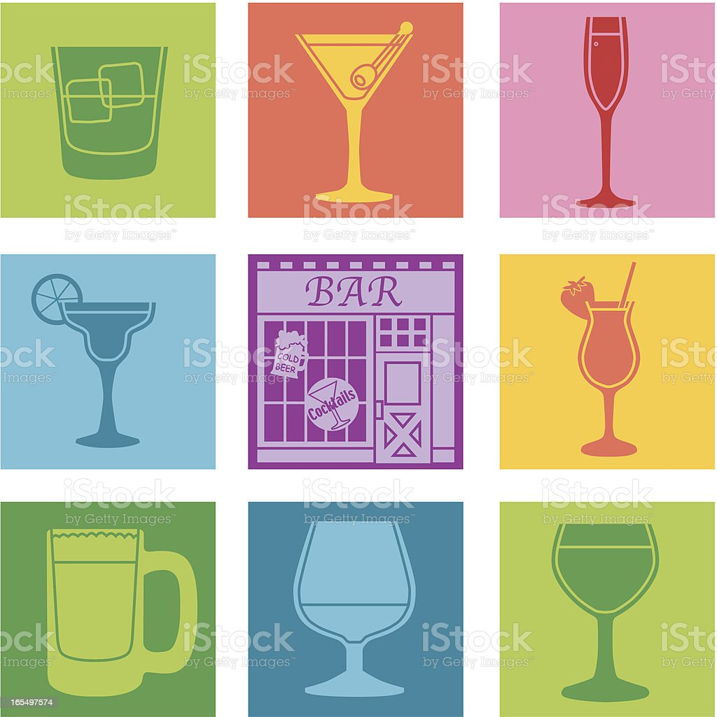 bar royalty-free stock vector art