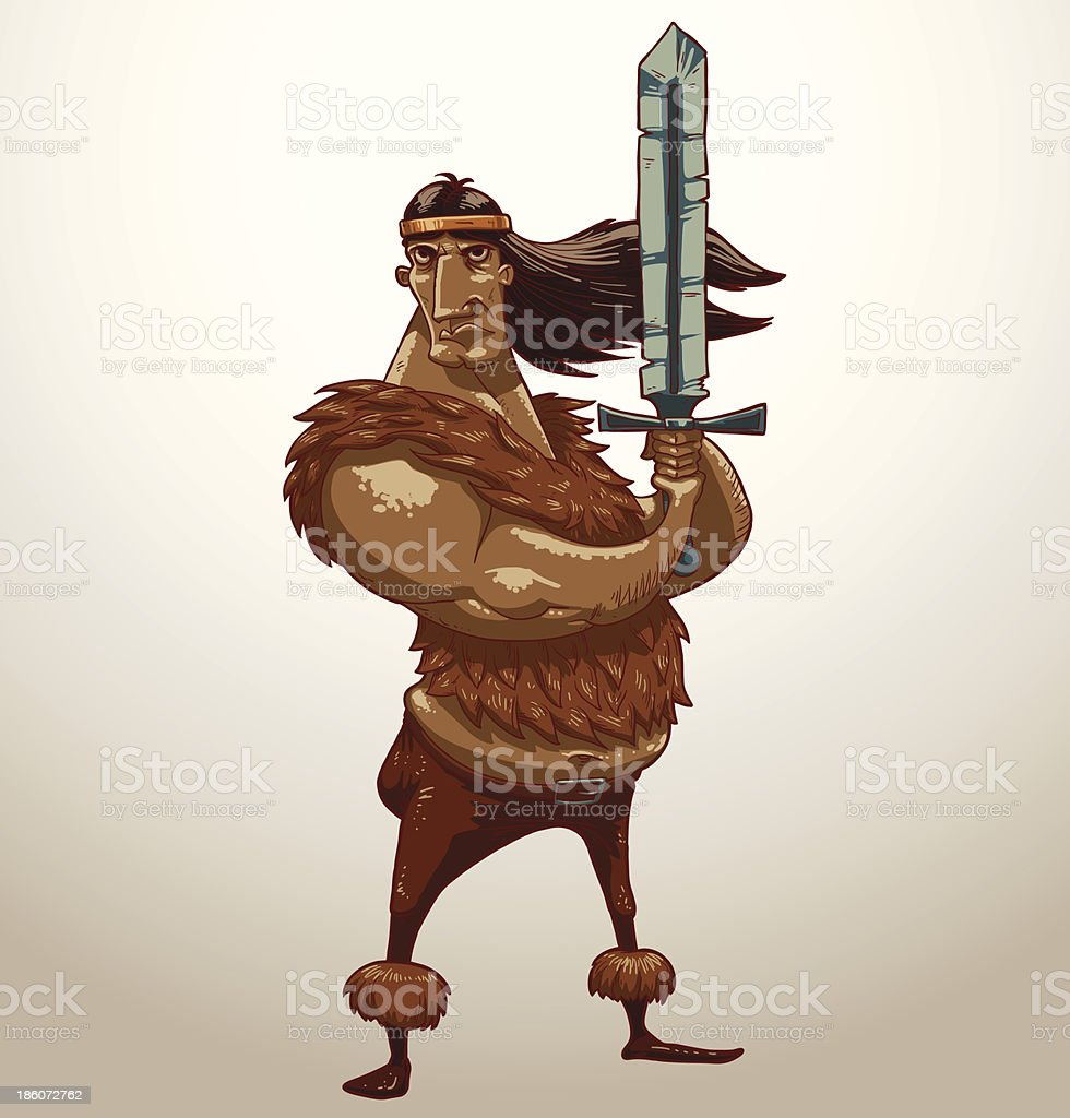 Barbarian royalty-free barbarian stock vector art & more images of adult