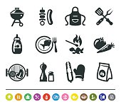 Barbecue icons | siprocon collection