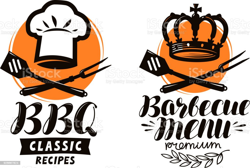 Bbq barbecue logo or label element for restaurant menu design food bbq barbecue logo or label element for restaurant menu design food vector illustration forumfinder Choice Image