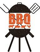 barbecue party invitation design template