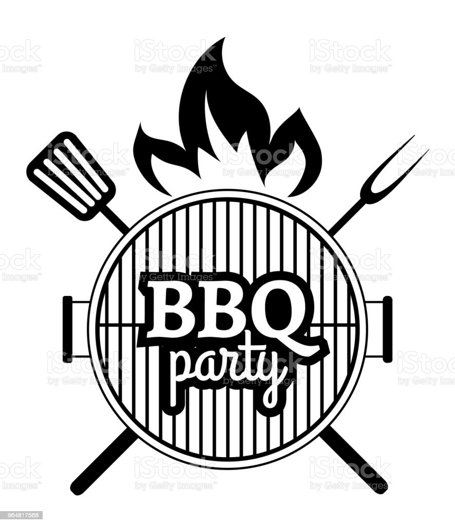 Barbecue Party label royalty-free barbecue party label stock vector art & more images of backgrounds