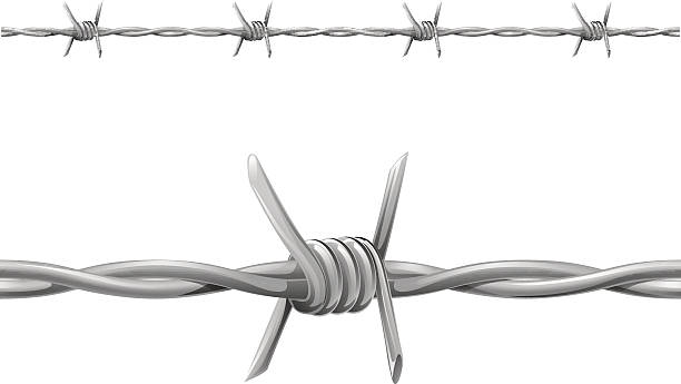 Best Barbed Wire Illustrations, Royalty-Free Vector ...