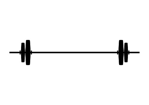 Barbell weight lifting