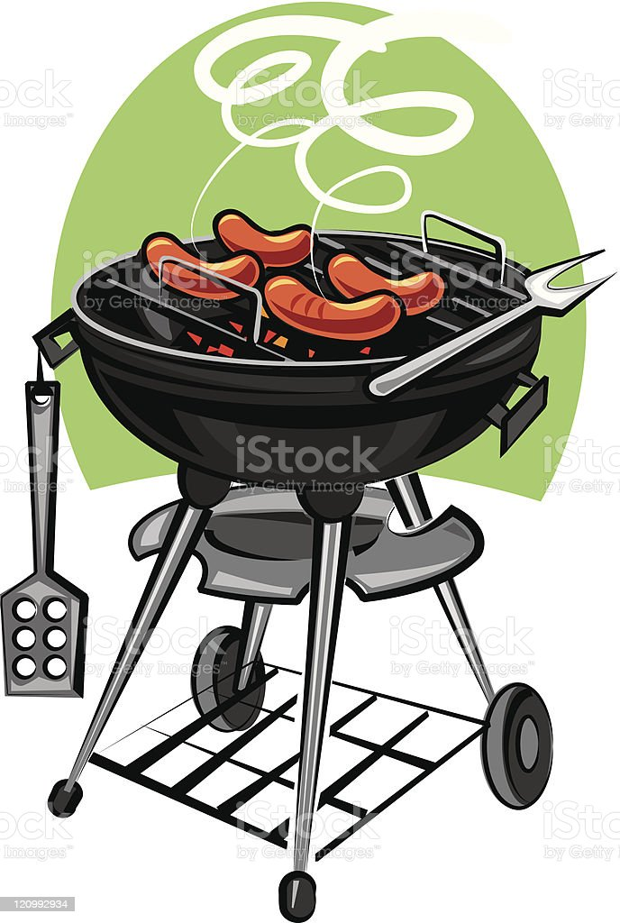barbeque grill royalty-free stock vector art