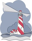 Barber Pole Lighthouse