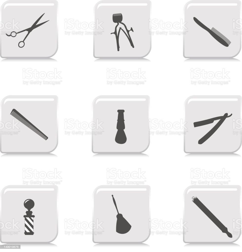 Barber Shop Icon royalty-free stock vector art