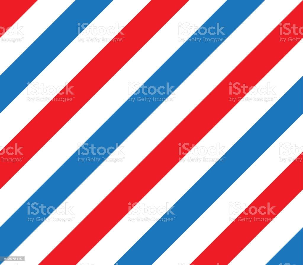 barber shop pole vector pattern vector art illustration