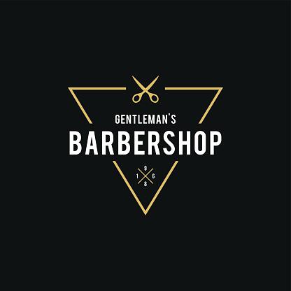 Barber Shop Retro Styled illustration