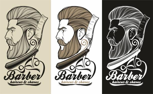 理髪店のシンボル - 床屋点のイラスト素材/クリップアート素材/マンガ素材/アイコン素材