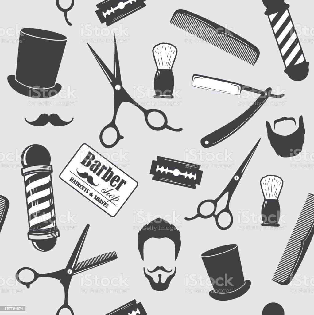 Barber - ilustração de arte em vetor