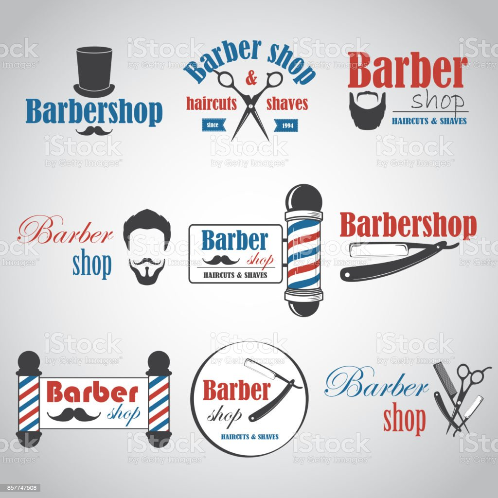 Barber15 vector art illustration