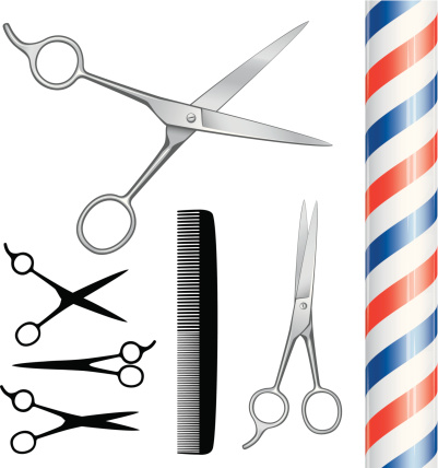 Barbers equipment