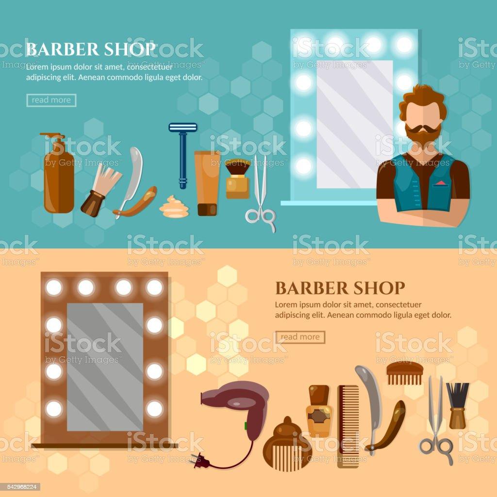Salony Fryzjerskie Kupuj Baner Narzędzia Profesjonalny Salon