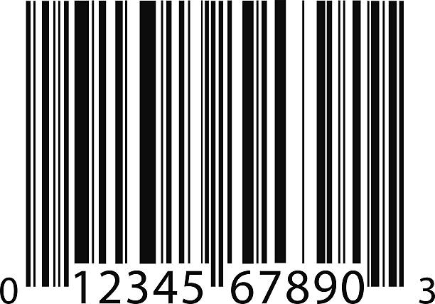 barcode background vector art illustration
