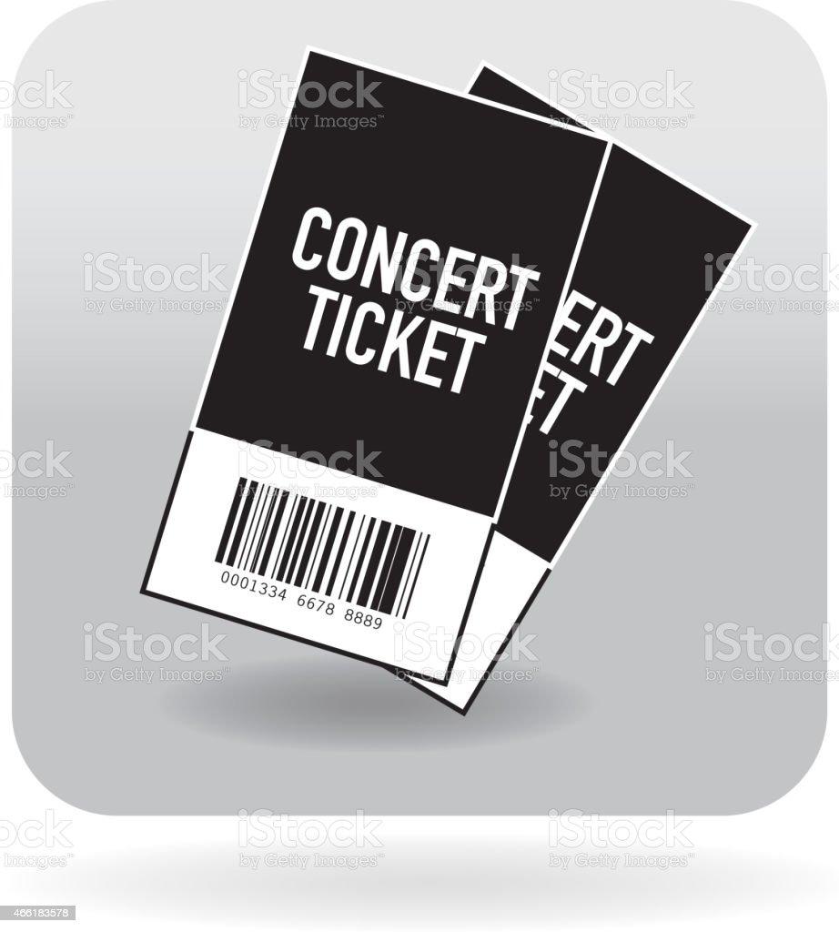 Barcode Belüftete Konzertsymbol Stock Vektor Art und mehr Bilder von ...