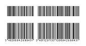 Barcode icon set. Barcode vector EPS 10 - stock vector.