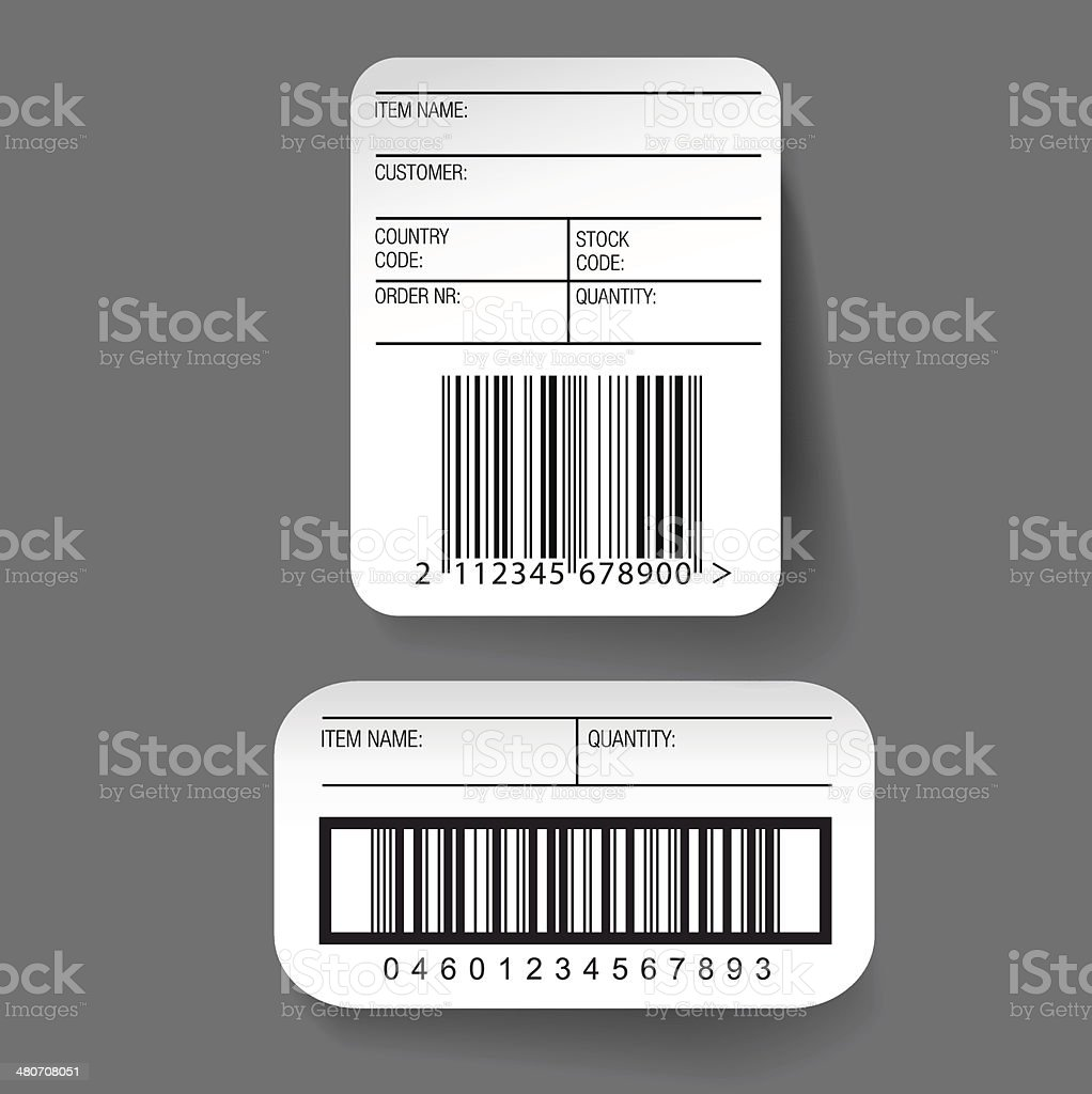 Comfortable Barcode Template Photos - Examples Professional Resume ...