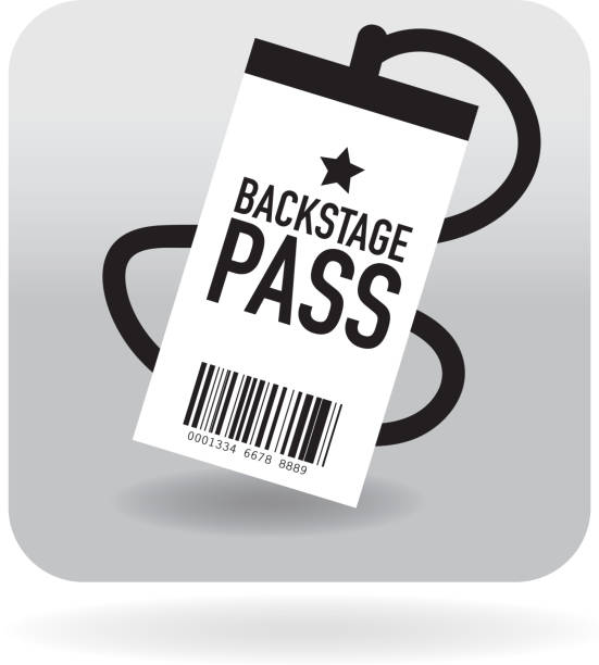 Royalty Free Backstage Pass Clip Art, Vector Images & Illustrations ...
