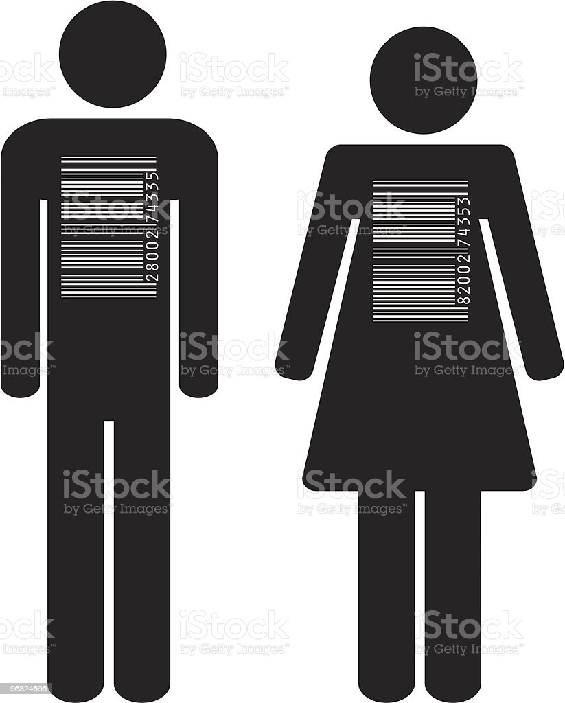 barcode people royalty-free barcode people stock vector art & more images of adult
