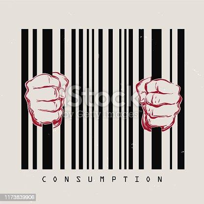 Konsument Gefangener Kapitalismus Kritik