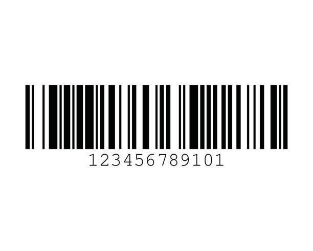 GSI-128 UCC EAN-128 128A Barcode Standards vector art illustration