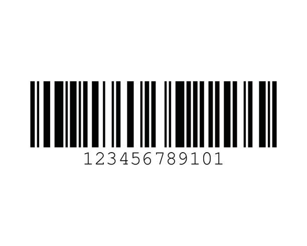 GSI-128 UCC EAN-128 128C Barcode Standards vector art illustration
