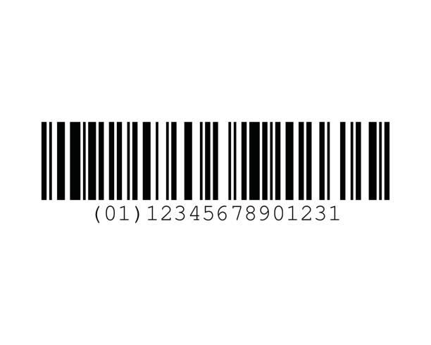 EAN-14 Barcode Standards vector art illustration