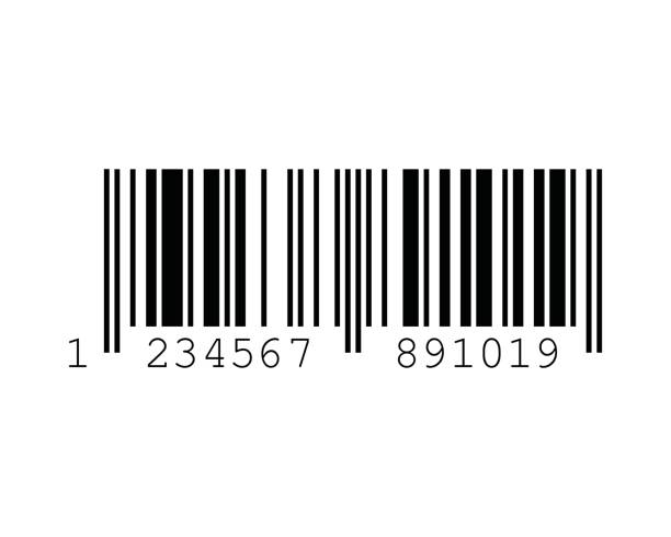 EAN-13 Barcode Standards vector art illustration