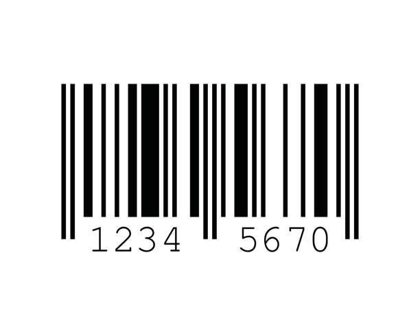 EAN-8 Barcode Standards vector art illustration