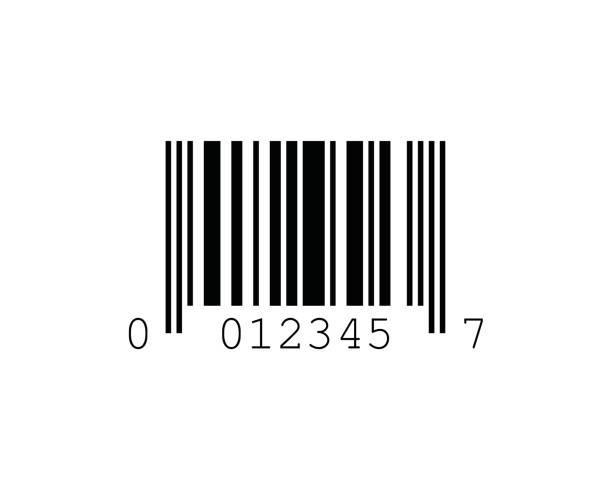 UPC-E Barcode Standards vector art illustration