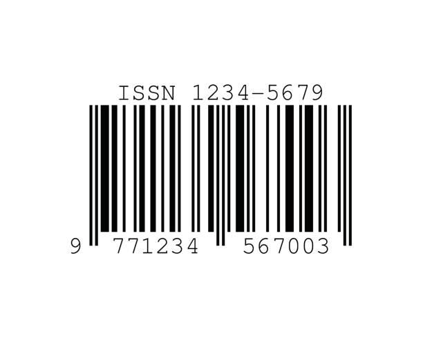 ISSN Barcode Standards vector art illustration