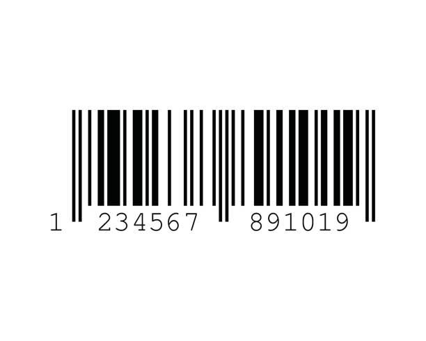 ISBN Barcode Standards vector art illustration