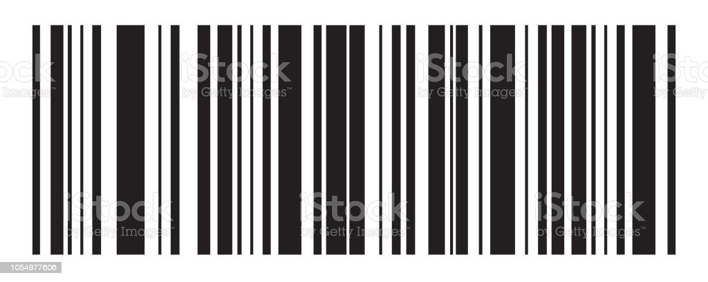 Barcode Vector Icon Bar Code For Web Design Isolated