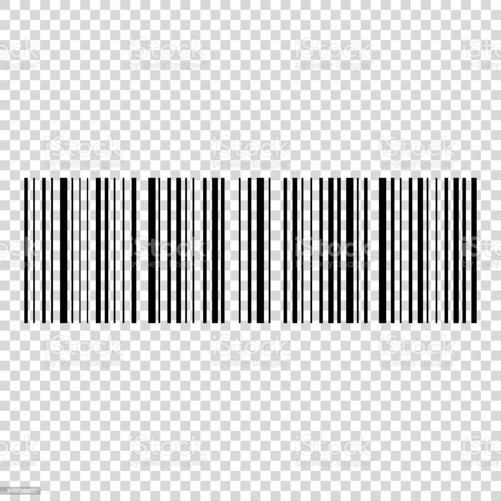 Barcodevektorsymbol Strichcode Für Web Stock Vektor Art und mehr ...