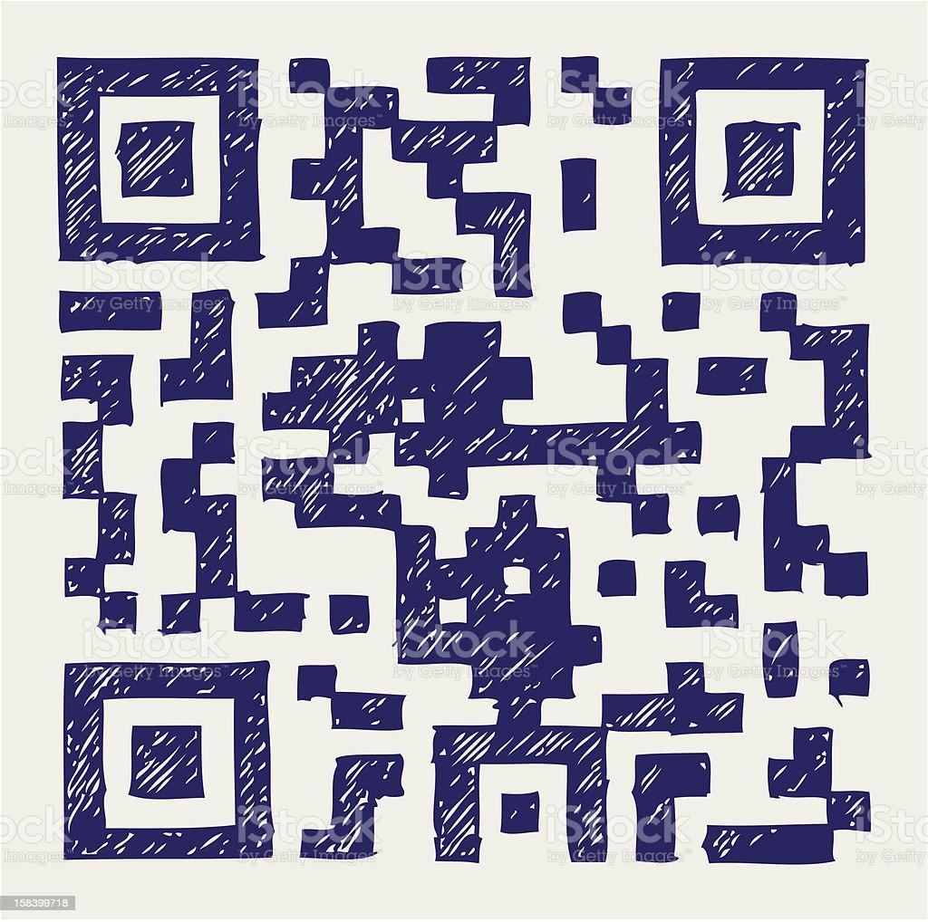 Barcode royalty-free stock vector art