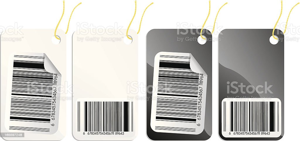 Barcode royalty-free barcode stock vector art & more images of bar code