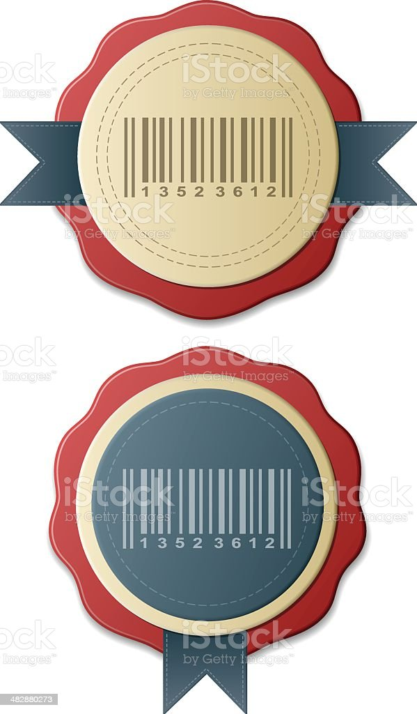 Barcode royalty-free stock vector art