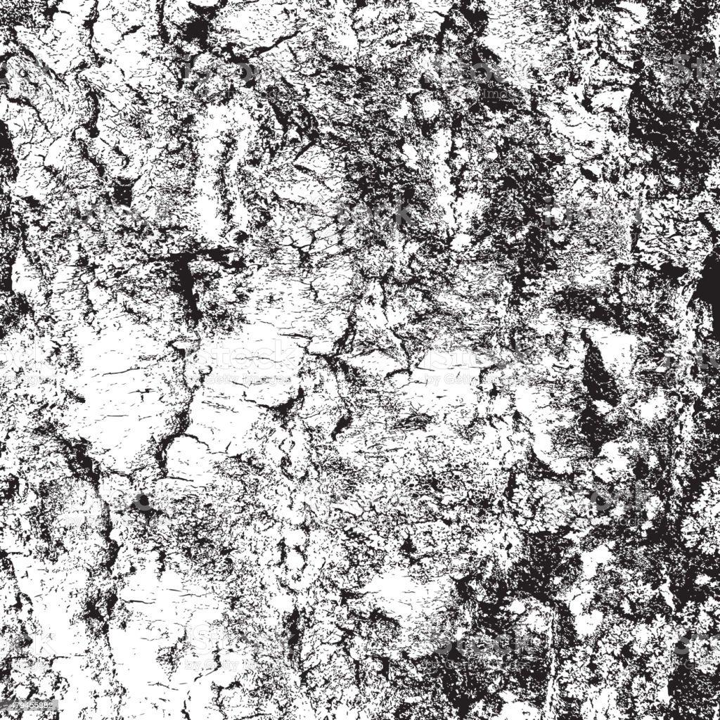 bark of birch in the cracks texture. Vector illustration. vector art illustration