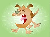 Barking Cartoon Dog