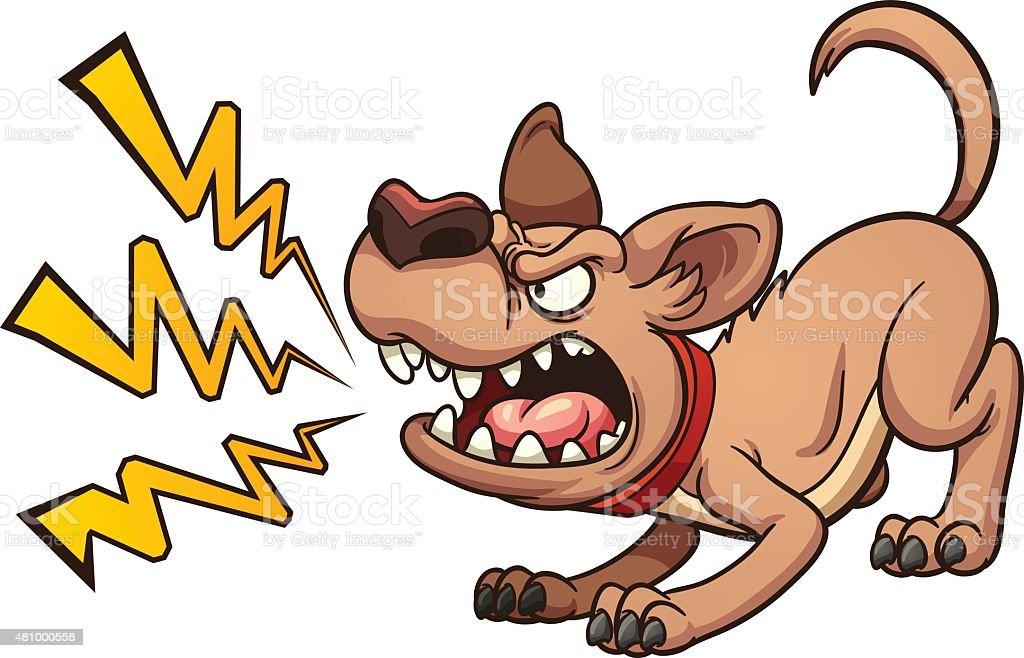royalty free barking dog clip art vector images illustrations rh istockphoto com dog barking clipart black and white