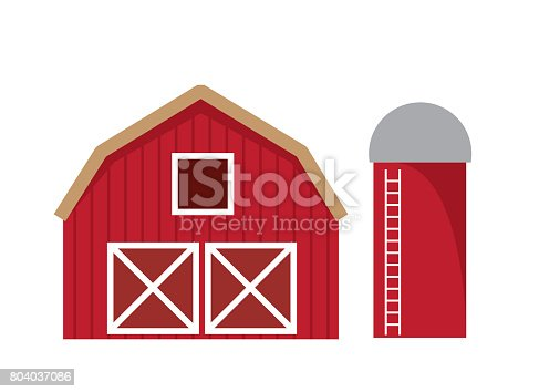 istock Barn Isolated 804037086