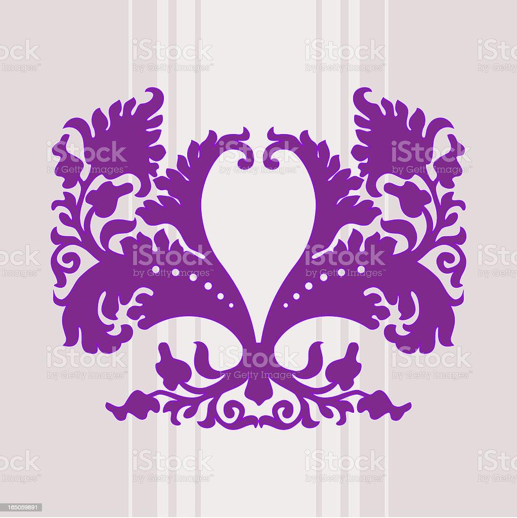 Barocco design element royalty-free stock vector art