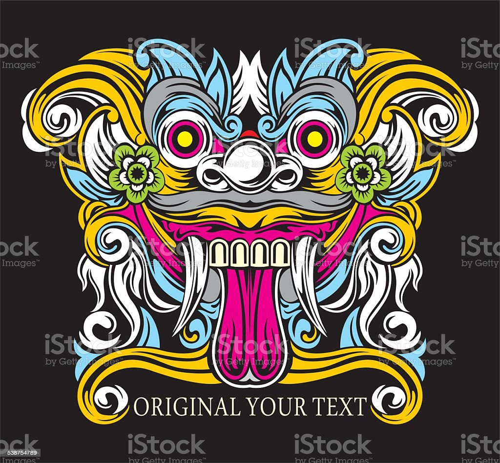 Barong Bali Colors Stock Vector Art More Images Of 2015 Istock