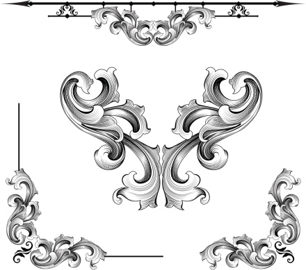 Designed by a hand engraver, this carefully drawn illustration replicates engraving cuts made in steel or gold. Rule line, symmetrical scrolls, and corner designs. Highly detailed. Includes AI, EPS, and hi-res JPG files. Authentic hand engraved design.